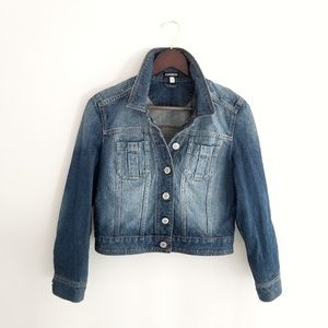 Express Moto Denim Jacket